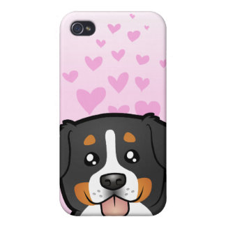 Bernese Mountain Dog Love iPhone 4/4S Cover