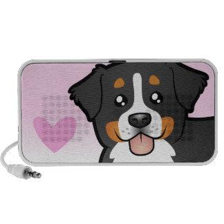 Bernese Mountain Dog Love iPhone Speaker