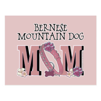 Bernese Mountain Dog MOM Postcard