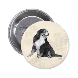 bernese mountain dog pin