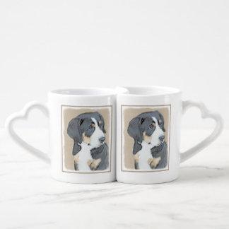 Bernese Mountain Dog Puppy Coffee Mug Set