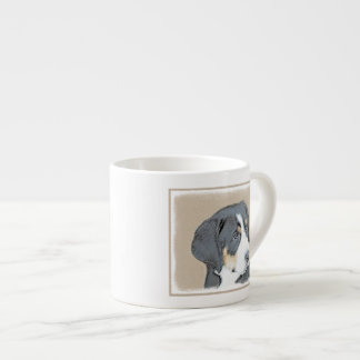 Bernese Mountain Dog Puppy Espresso Cup