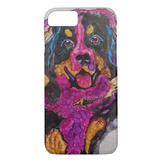 Bernese Mountain Dog puppy iPhone 8/7 Case