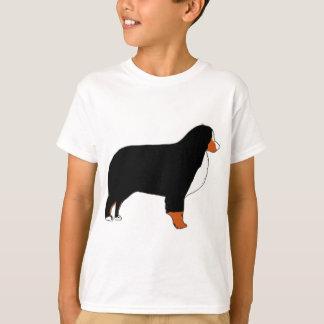 Bernese Mountain Dog silhouette rust T-Shirt