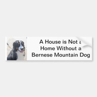 Bernese Mountain Dog Sticker Bumper Sticker