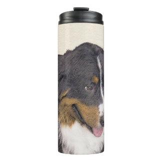 Bernese Mountain Dog Thermal Tumbler