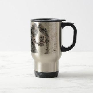Bernese Mountain Dog Travel Mug