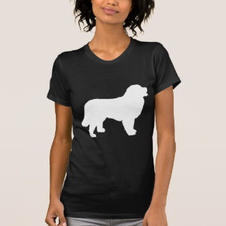 Bernese Mountain Dog (white silhouette) T-Shirt