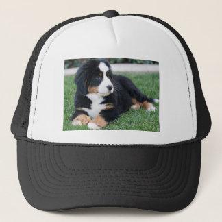 Bernese Mountain Puppy Trucker Hat