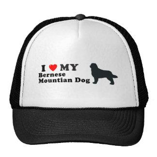 Bernese Mountian Dog Mesh Hat