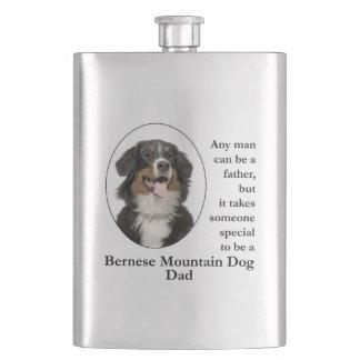 Bernese Mt. Dog Dad Flask