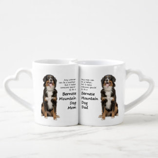 Bernese Mt. Dog Lovers Mom and Dad Mugs