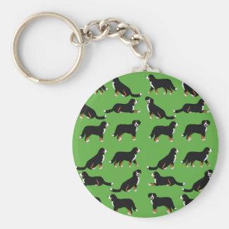Bernese Sennenhund selection Key Ring