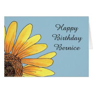 Bernice's Birthday Card