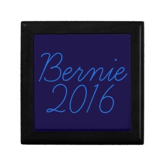 Bernie 2016 Cursive Small Square Gift Box