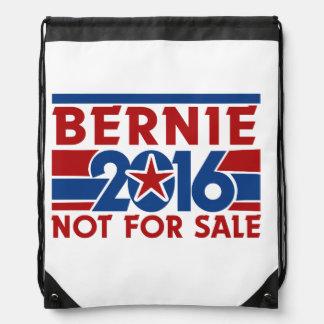 Bernie 2016 not for sale drawstring bag