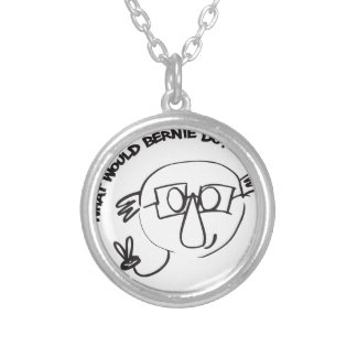 Bernie Anna Final Silver Plated Necklace
