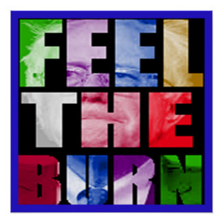 Bernie Feel The Burn