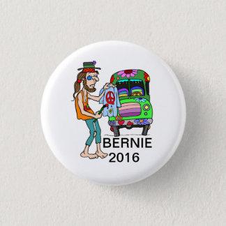 Bernie for Peace Hippie Campaign Button