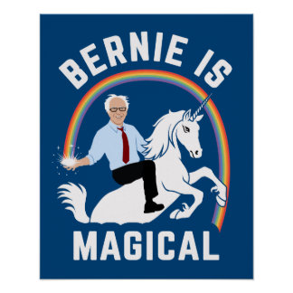 Bernie Is Magical Poster