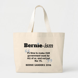 Bernie.ism Government for All Jumbo Tote Bag
