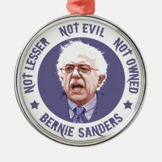 Bernie - Not Lesser Silver-Colored Round Decoration