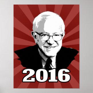 BERNIE SANDERS 2016 Candidate Poster