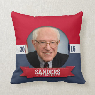 BERNIE SANDERS 2016 CUSHION