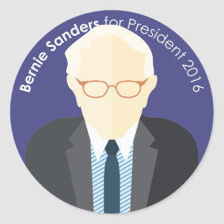 Bernie Sanders 2016 for president custom sticker