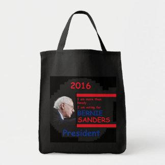 Bernie SANDERS 2016 Grocery Tote Bag