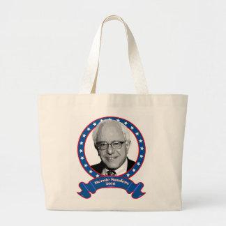 Bernie sanders 2016 tote bag. jumbo tote bag