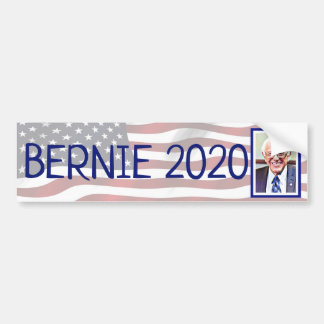 Bernie Sanders 2020 Presidential Election Support Bumper Sticker