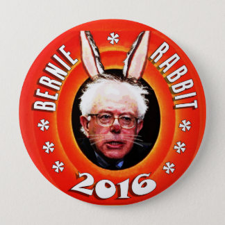 Bernie Sanders: Bernie Rabbit 2016 10 Cm Round Badge