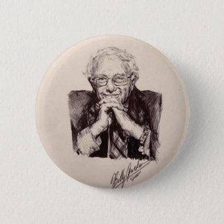 Bernie Sanders by Billy Jackson 6 Cm Round Badge