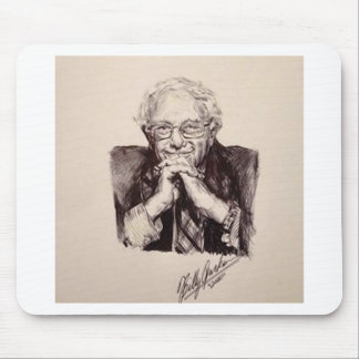 Bernie Sanders by Billy Jackson Mouse Pad