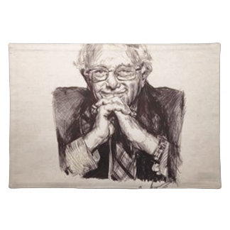 Bernie Sanders by Billy Jackson Placemat