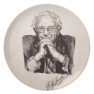 Bernie Sanders by Billy Jackson Plate