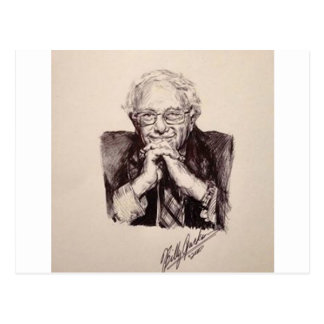 Bernie Sanders by Billy Jackson Postcard