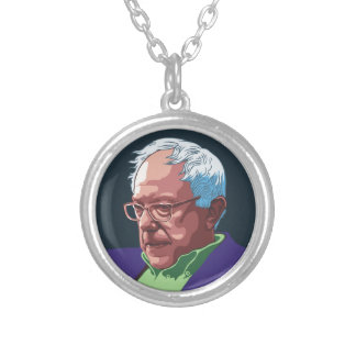 Bernie Sanders -col Silver Plated Necklace