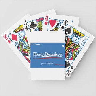 Bernie Sanders Feel the Bern Bicycle Playing Cards