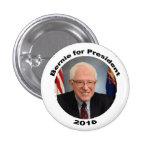 Bernie Sanders for President 2016 3 Cm Round Badge
