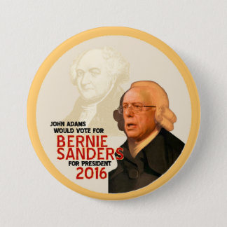 Bernie Sanders for president 2016 7.5 Cm Round Badge