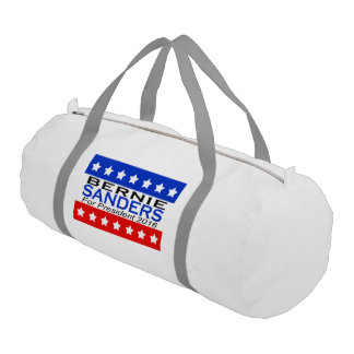 Bernie Sanders for President 2016 Campaign Gym Duffel Bag