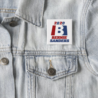 Bernie Sanders for President 2020 15 Cm Square Badge