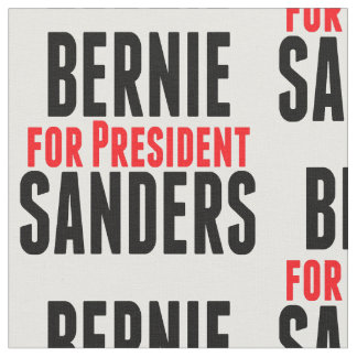 Bernie Sanders For President Fabric