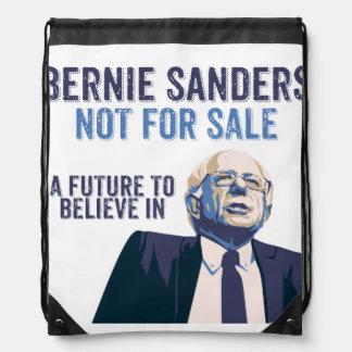 Bernie Sanders - Not For Sale - President Drawstring Bag