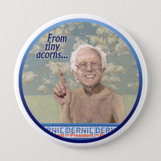 Bernie Sanders plants the seeds in Iowa 2016 10 Cm Round Badge