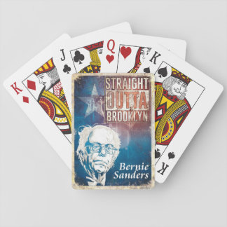 Bernie Sanders Playing Cards
