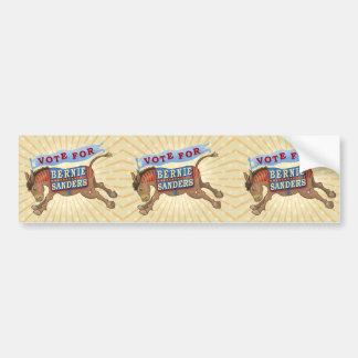 Bernie Sanders President 2016 Democrat Donkey Bumper Sticker