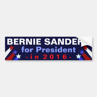 Bernie Sanders President 2016 Election Democrat Bumper Sticker